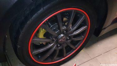 【コルトラリーアートバージョンR】タイヤの比較