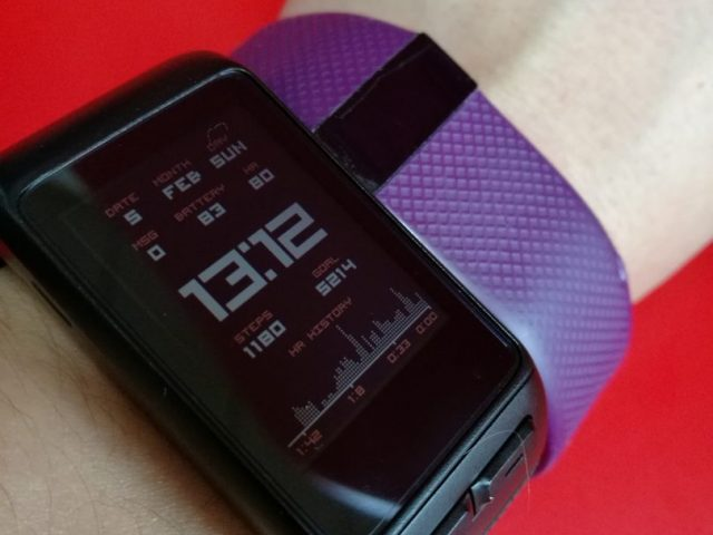 Fitbit Charge HR Garmin VIVO ACTIVE J HR